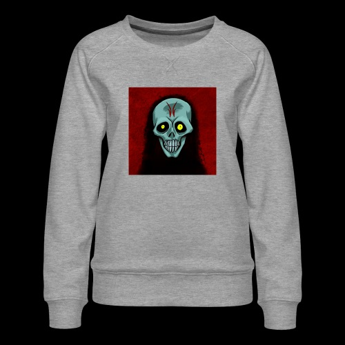 Ghost skull - Women's Premium Sweatshirt