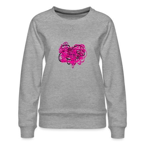 delicious pink - Women's Premium Sweatshirt