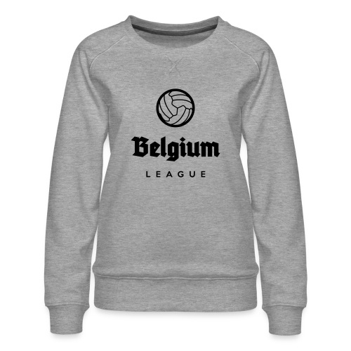 Belgium football league belgië - belgique - Sweat ras-du-cou Premium Femme