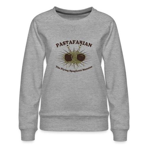 The Flying Spaghetti Monster - Women's Premium Sweatshirt