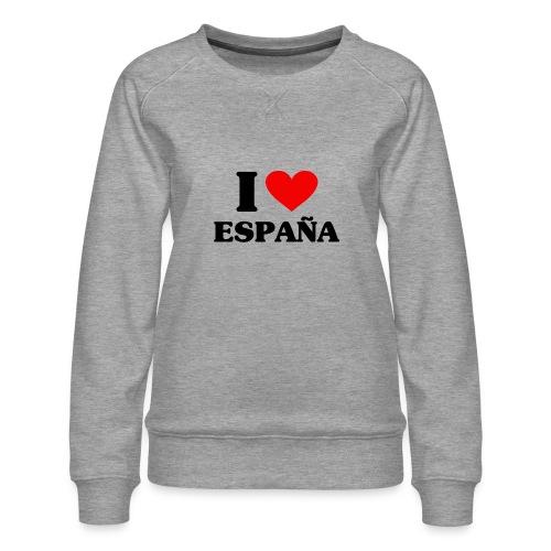 I love Espana - Frauen Premium Pullover
