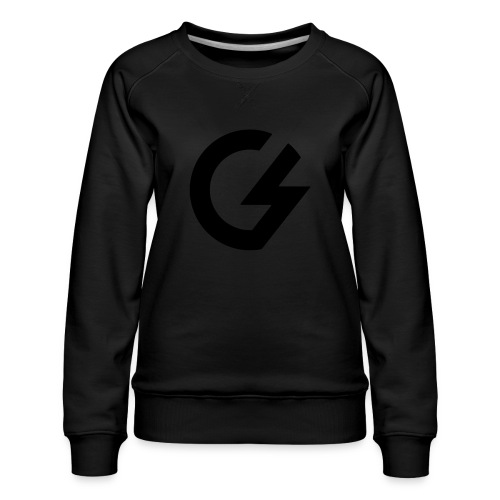 Giacomini Lab - Logo - Felpa premium da donna