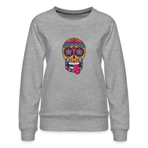 Mexican Skull - Felpa premium da donna