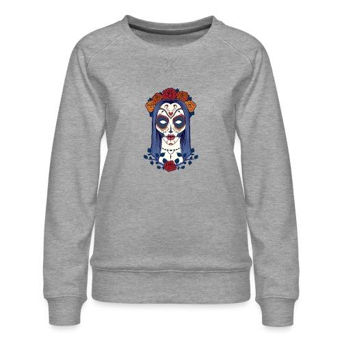 Skull 4 - Felpa premium da donna