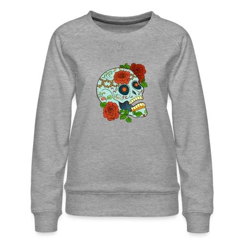 Mexican Skull 5 - Felpa premium da donna