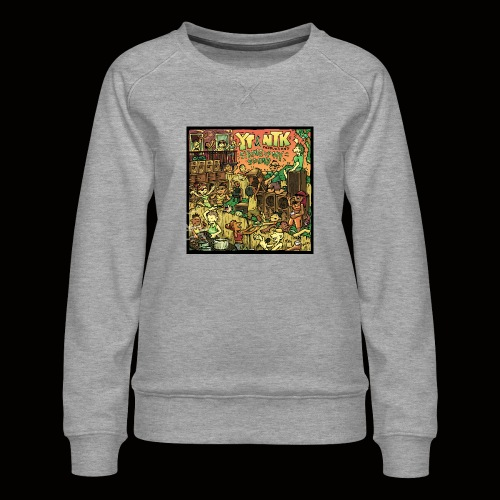 String Up My Sound Artwork - Women's Premium Sweatshirt