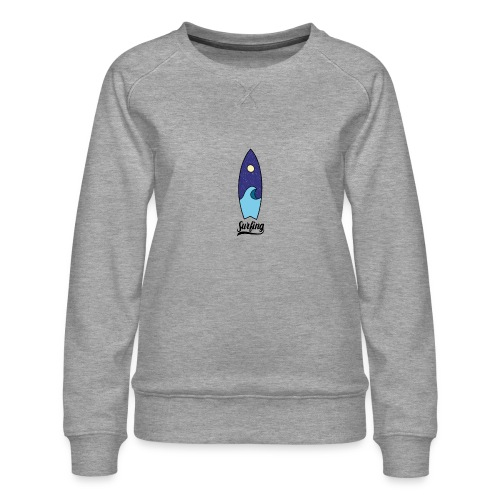 Surfboard - Vrouwen premium sweater