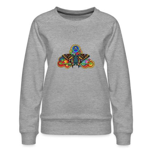 Happy Butterfly! - Frauen Premium Pullover