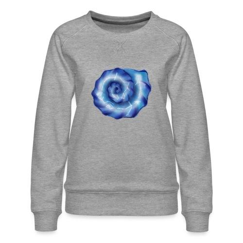 Galaktische Spiralenmuschel! - Frauen Premium Pullover