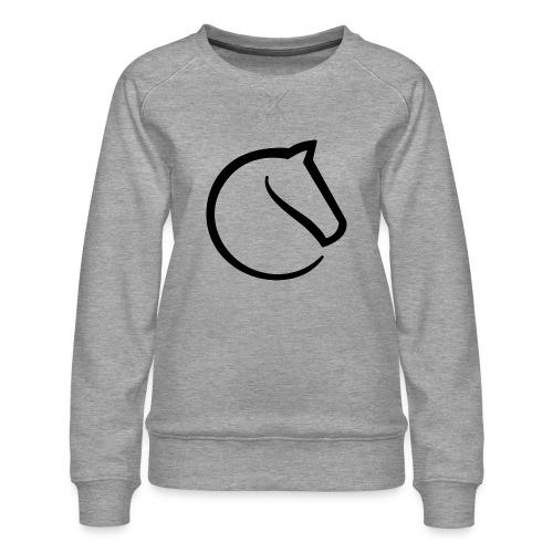 lichess logo - Women's Premium Sweatshirt