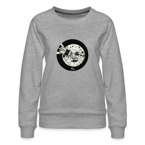 Viaje a la luna (Tributo a George Méliès) - Sudadera premium para mujer