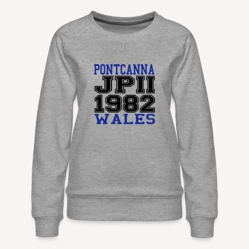 PONTCANNA 1982 - Women's Premium Sweatshirt