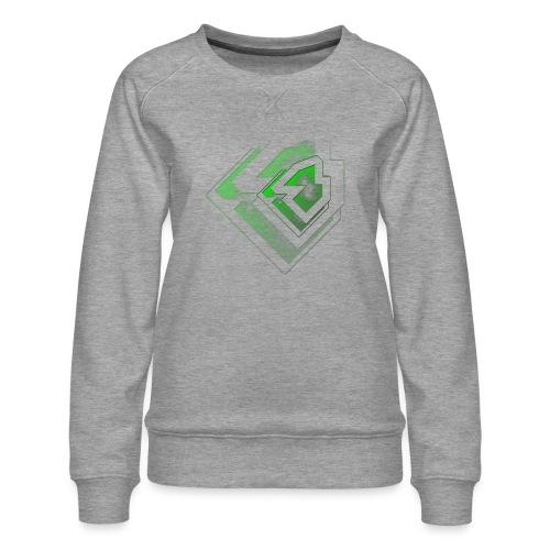 BRANDSHIRT LOGO GANGGREEN - Vrouwen premium sweater