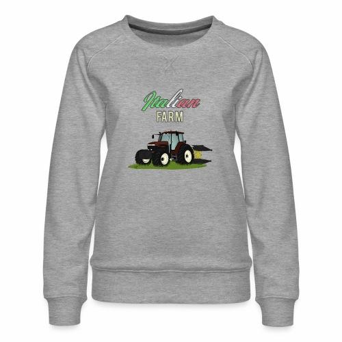 Italian Farm official T-SHIRT - Felpa premium da donna