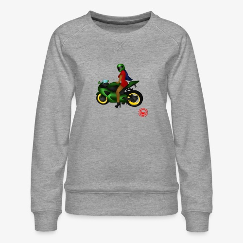 moto - Women's Premium Sweatshirt