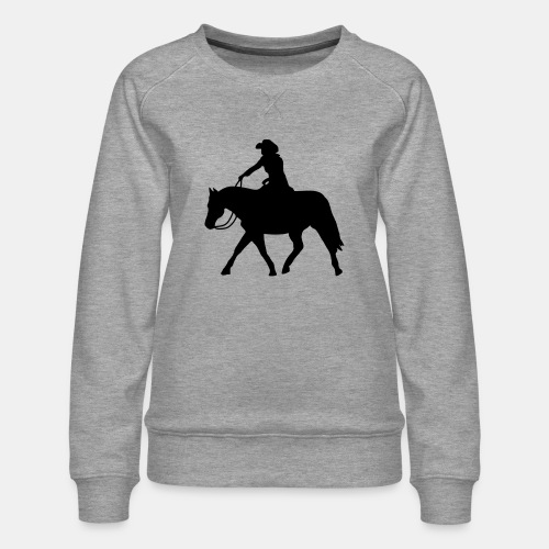 Ranch Riding extendet Trot - Frauen Premium Pullover