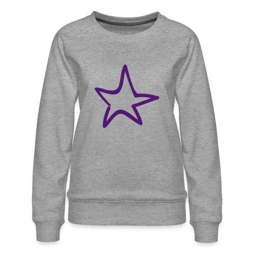Star Outline Pixellamb - Frauen Premium Pullover