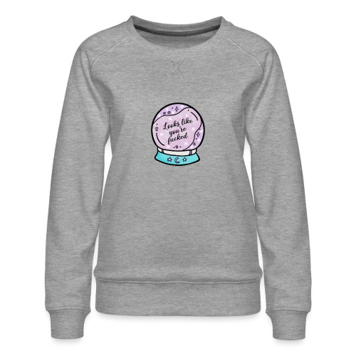 2020 Worst Year Ever Psychic - Women's Premium Sweatshirt