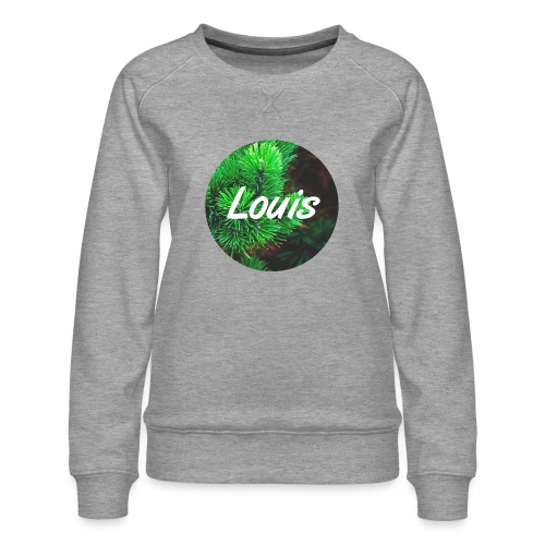 Louis round-logo - Frauen Premium Pullover