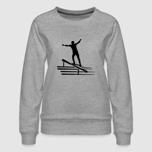 Skateboard - Frauen Premium Pullover