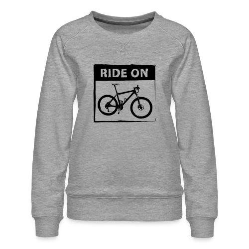 Ride On MTB 1 Color - Frauen Premium Pullover