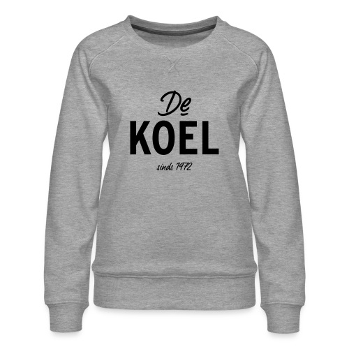 De Koel - Frauen Premium Pullover