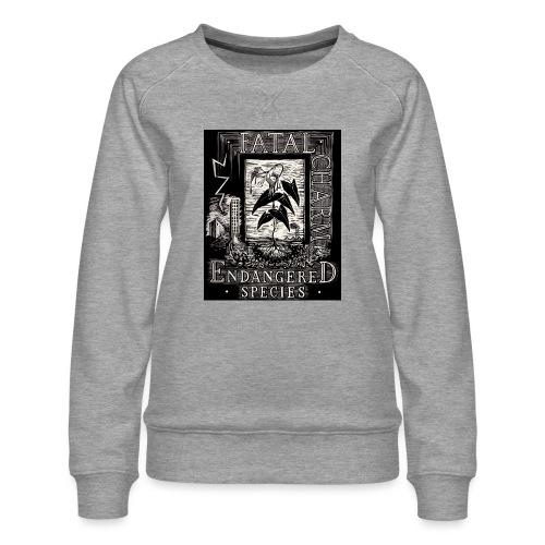 fatal charm - endangered species - Women's Premium Sweatshirt