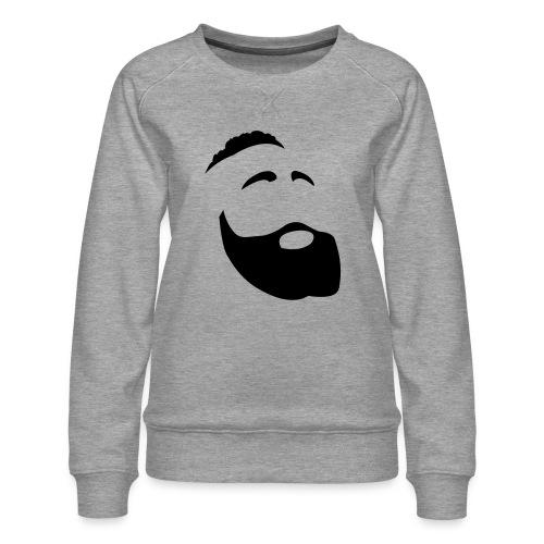 Il Barba, the Beard black - Felpa premium da donna