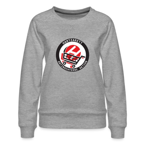 Hartzarett Antifa - Frauen Premium Pullover