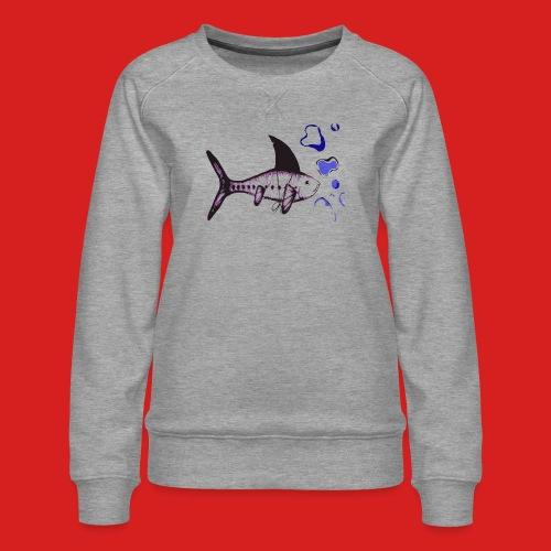 Hai-Fisch - Frauen Premium Pullover