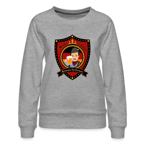 Hermann the German - Women's Premium Sweatshirt