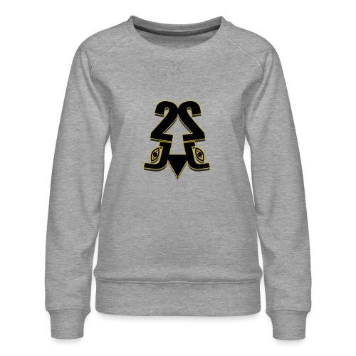 2J logo - Dame premium sweatshirt