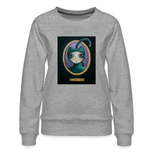 Miss Kitty t-shirt - Sweat ras-du-cou Premium Femme