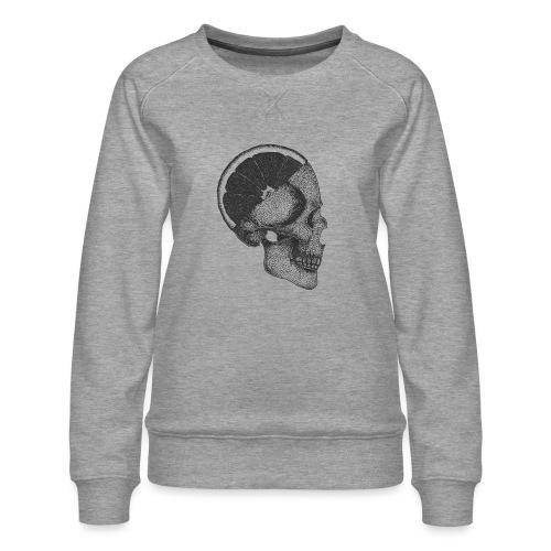 The Skull [BLACK] - Women's Premium Sweatshirt