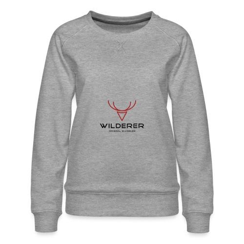 WUIDBUZZ   Wilderer   Männersache - Frauen Premium Pullover