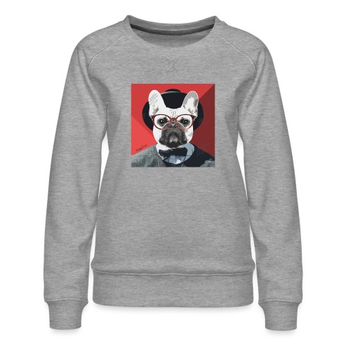 French Bulldog Artwork 2 - Frauen Premium Pullover