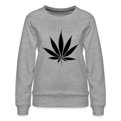 Weedblatt - Women's Premium Sweatshirt