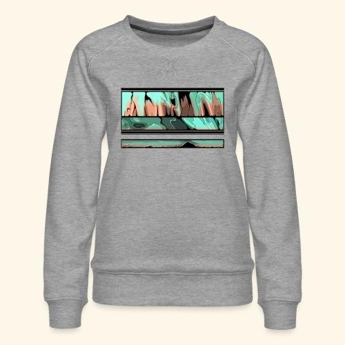 Slur-F06 - Women's Premium Sweatshirt