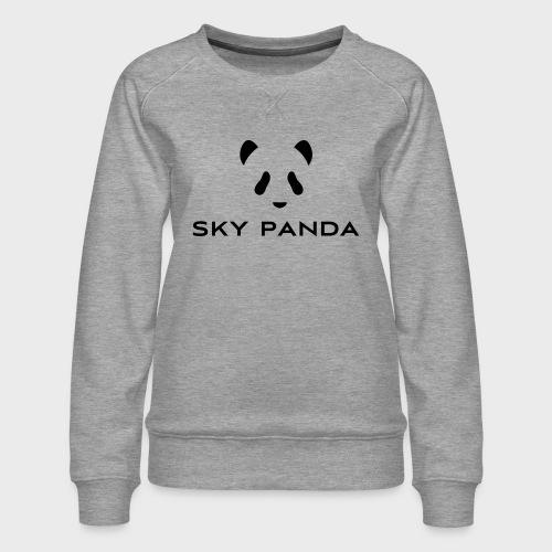 Sky Panda Logo - Frauen Premium Pullover