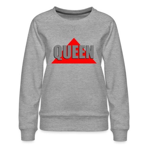 Queen, by SBDesigns - Sweat ras-du-cou Premium Femme