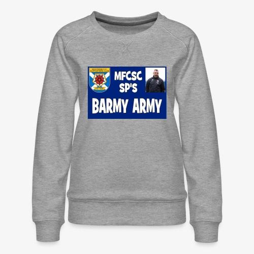 Barmy Army - Women's Premium Sweatshirt