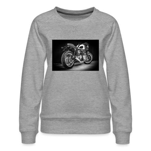 Monia's Thruxton 'Performance Scrambler' - Women's Premium Sweatshirt