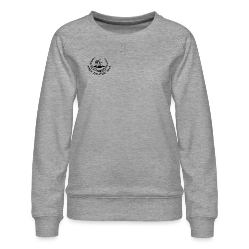 logo på brystet - Dame premium sweatshirt