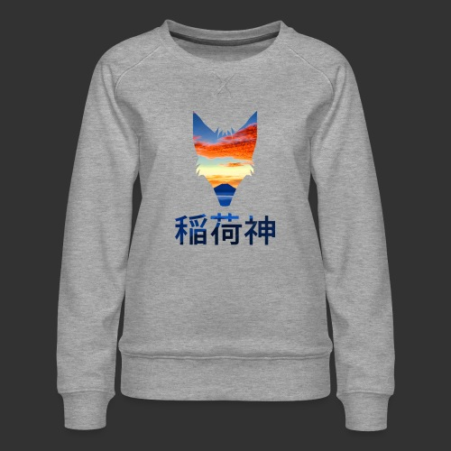 Inari Fox (Fuji Edition) - Sweat ras-du-cou Premium Femme