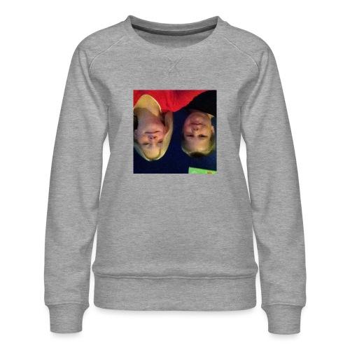Gammelt logo - Dame premium sweatshirt
