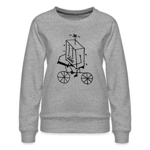 bike thing - Women's Premium Sweatshirt