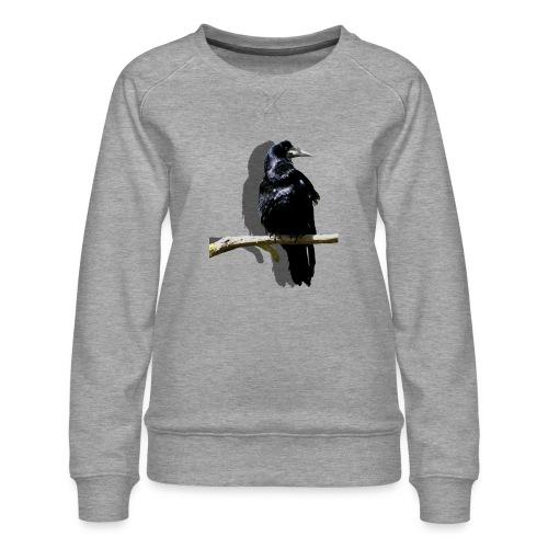 Rabenschwarz - Frauen Premium Pullover