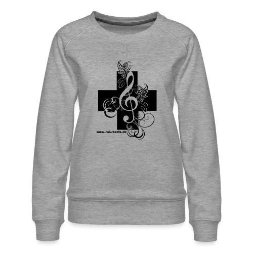 Swiss Beatz Logo non L - Frauen Premium Pullover