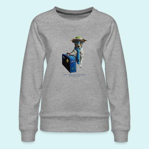 The Traveling Dog - Women's Premium Sweatshirt