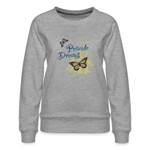 Free butterfly - Women's Premium Sweatshirt